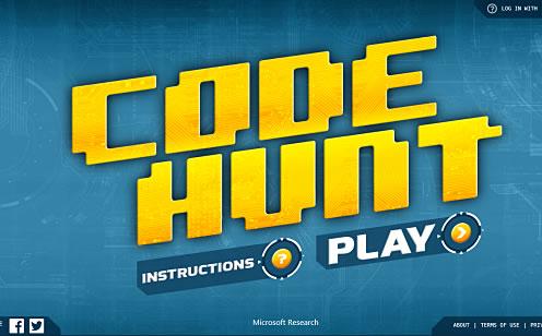 微软推出编程学习网页游戏Code Hunt
